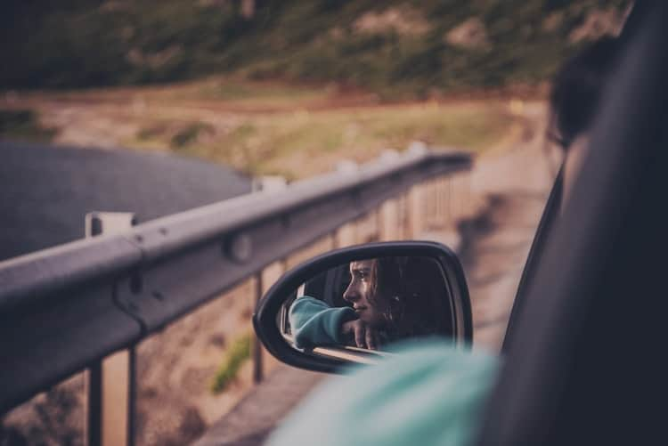 Car Blind Spot Mirror Rotatable Accessory For A Safe Ride